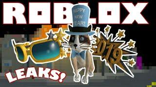 Proprietà LEAKS . Roblox Capodanno Catalogo Elementi Perdite! Roblox