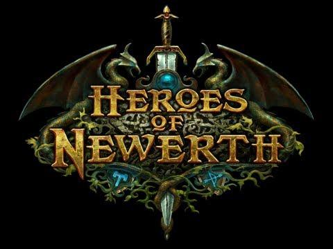 видео: [Обзоры игр от alex`a] Играем в heroes of newerth (Первый бой)
