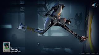 "Portal 2 Community Maps: ""Orange Juice"" by Dark Rozen and ""Swing"" by HugoBDesigner"