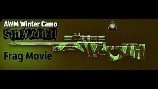 Frag Movie AWM Winter Camo WARFACE by SHEVAMEN