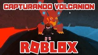 👾 How to capture the legendary Volcanion Pokémon | ROBLOX BRONZE BRICK