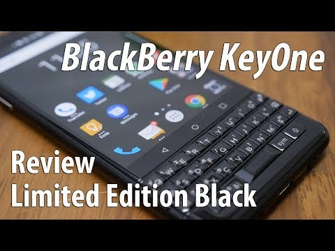 BlackBerry KeyOne Black Review - The Business Android Smartphone
