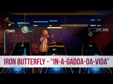 Iron Butterfly's 17-minute epic 'In-A-Gadda-Da-Vida' comes to Rock Band