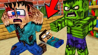 Monster School : REAL LIFE - Minecraft Animation