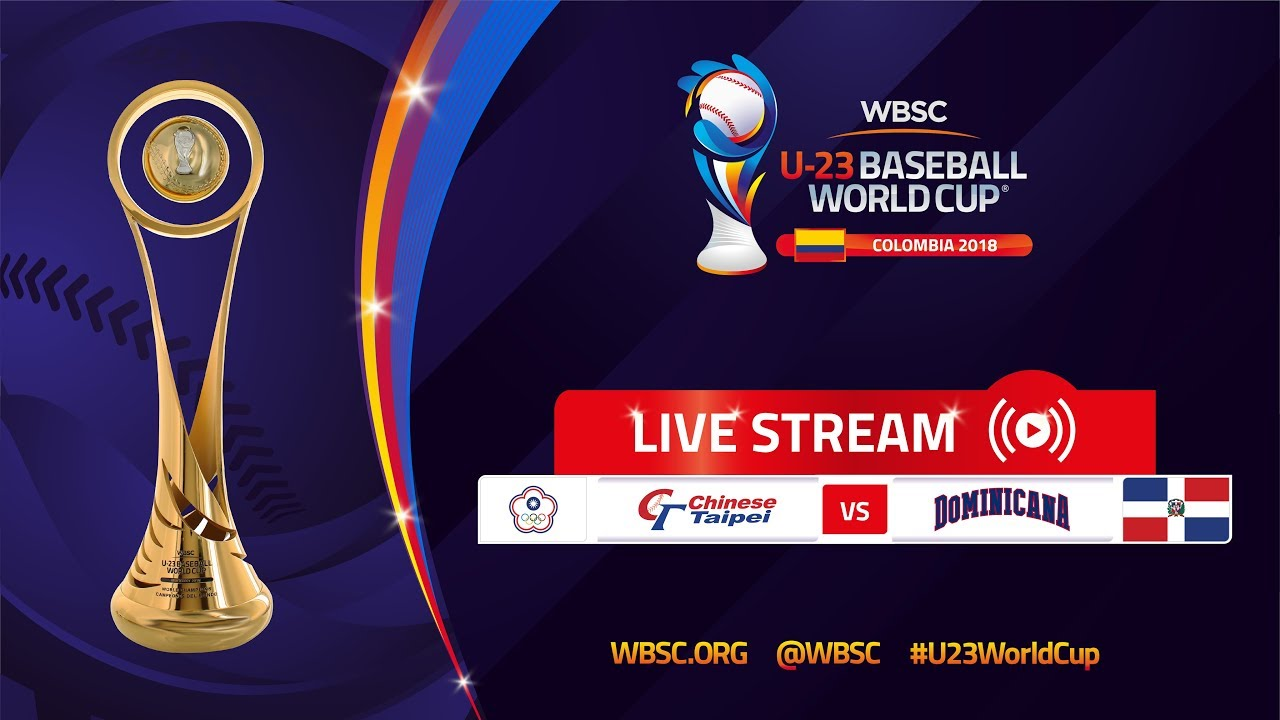 China Taipei v República Dominicana – World Baseball Cup Sub-23 2018