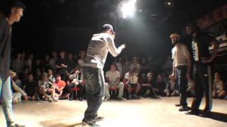 Finał Popping WDC 2016: Wal & Sly(Walid & Sally sly) vs 田ひろまさし BEST8