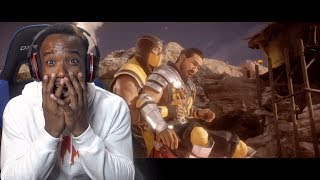Mortal Kombat 11 Old Scorpion Tried To Save New Scorpion's Life! Story Mode Chapter 9