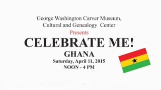 You Are Invited! Ghana Celebration @ G.W. Carver Museum Austin, TX
