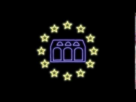 Logo in Motion Graphics · europe.eu · European Union