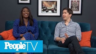 He's So Lucky! Justin Long Talks About His First Onscreen Kiss With Britney Spears | PeopleTV