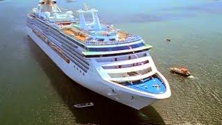 カリブ海から太平洋へ、パナマ運河を通過できる最大のクラスです。 全客...