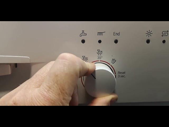 Bosch Mosogatógép  vízkeménység beállítás sgs43f42eu