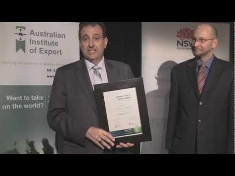 Cordina Chicken Farms - NSW Western Sydney Exporter Award.wmv