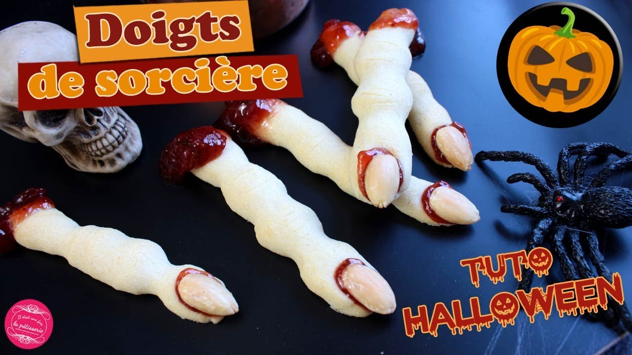 Recettes Faciles Pour Halloween Fingers Witch Biscuits For Halloween Easy And Scary Recipe