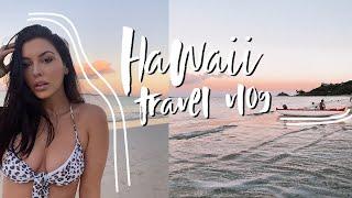 TRAVEL VLOG: 4 DAYS HOME IN HAWAII // ELLEKAE