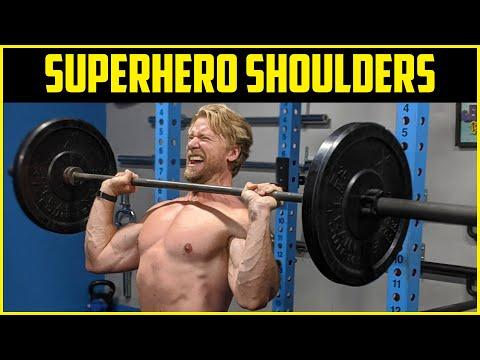 SUPERMASSIVE SHOULDERS WORKOUT | Superhero Plan Stage 3 Day 3