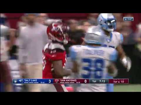 Salt Lake Stallions vs. San Antonio Commanders | AAF Week 7 Game Highlights