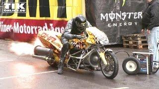 Das schnellste Motorrad der Welt: Von Null auf 100 in 0,8 Sekunden!