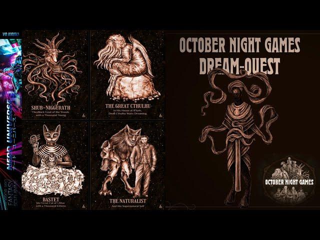 Ersteindruck zu October Night Games | Schaurig schönes Lovecraft´sches Horror Game ☬  [PC] 1440p