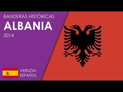 Banderas Históricas de Albania