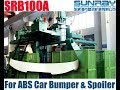 SRB100A Blow Moulding Machine Production for ABS Car Bumper & Spoiler