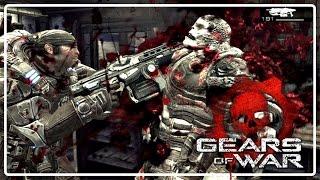 "Gears of War 1 Detonado COOP - Parte 4 "" Ventre da Besta "" [ PT BR ]"