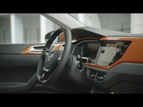 2018 VW Polo interior design