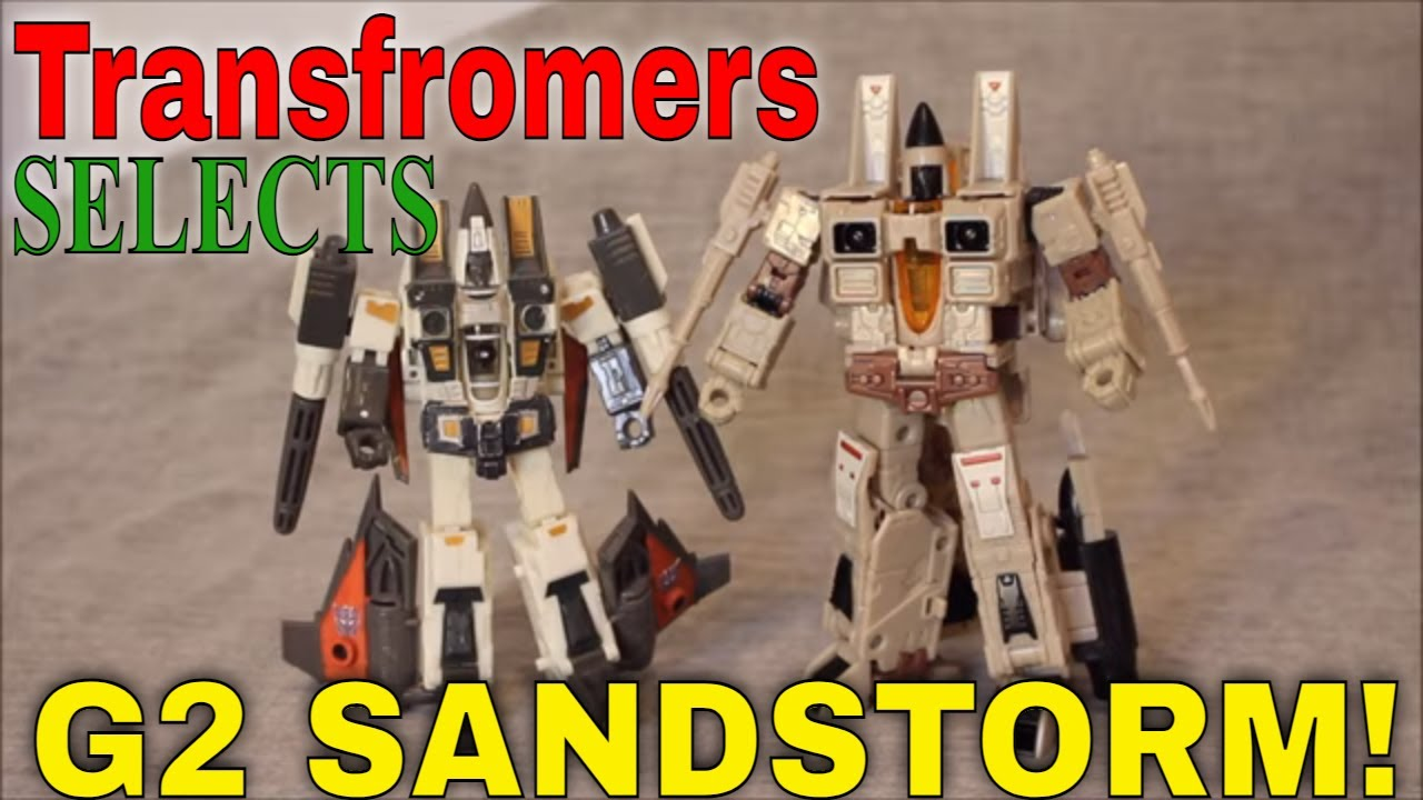 Forecasting a Sandstorm!: Selects G2 Sandstorm Review by GotBot