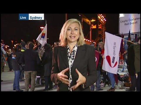 ABC News Port Botany lockout, August 2015