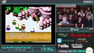 Awesome Games Done Quick 2015 - Part 155 - Super Mario RPG: Legend of the Seven Stars by checkers
