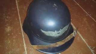MILITECH Green WW2 German M35 Steel Helmet WW II M35