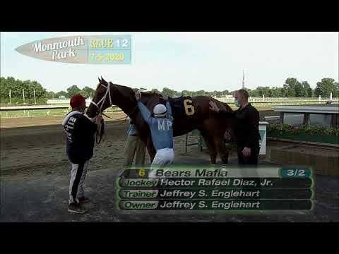 video thumbnail for MONMOUTH PARK 07-5-2020 RACE 12