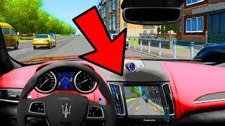 City Car Driving - Maserati Levante S TELECAMERA DI PARCHEGGIO