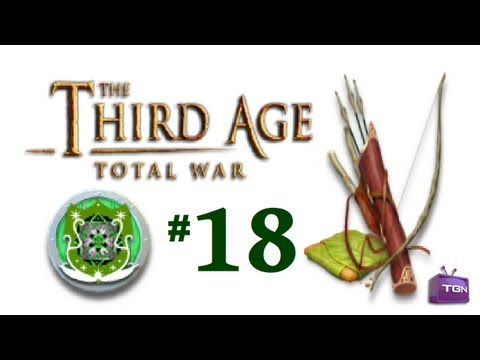 Third Age Total War - Silvan Elves Campaign part 18: Lost the Ring...