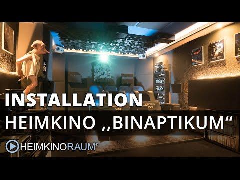 Heimkino ''BINAPTIKUM 4K'' – made by HEIMKINORAUM Mannheim