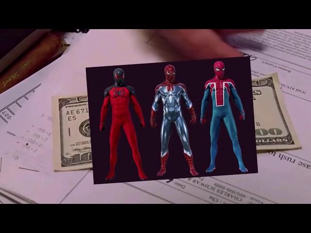 NO RAIMI SUIT IN SPIDER-MAN PS4?!?