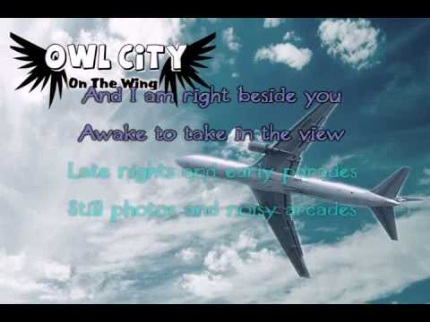 On The Wing (Owl City) Karaoke