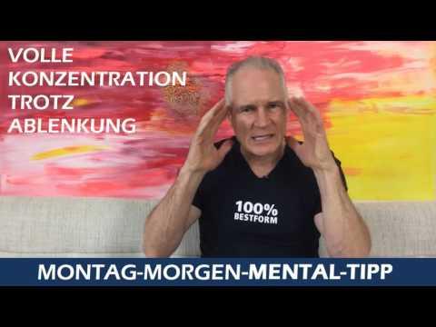 Montag-Morgen-Mental-Tipp: Volle Konzentration trotz Ablenkung
