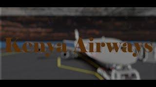 Kenya Airways | Airbus A340 | Roblox