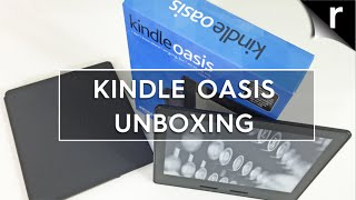 Kindle Oasis: Unboxing & hands-on review