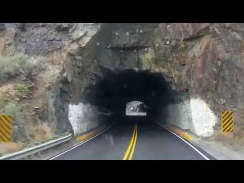 3 Tunnels in Wind River Canyon Wyoming