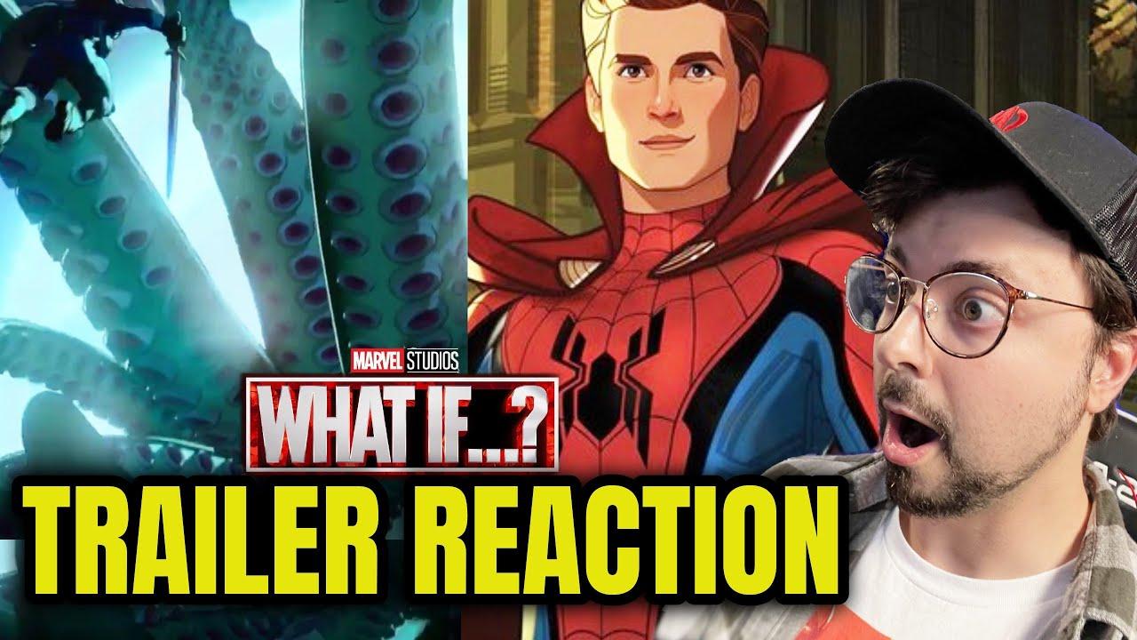 NEW Marvel What If Trailer Reaction/Breakdown! Plus WILD RUMOR Talk!