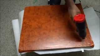 Rosewood Knotty Grain Vinyl Wrap