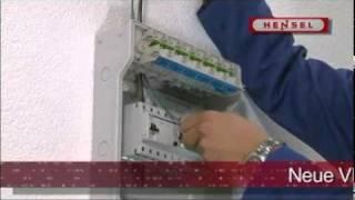 KV-Kleinverteiler von Hensel