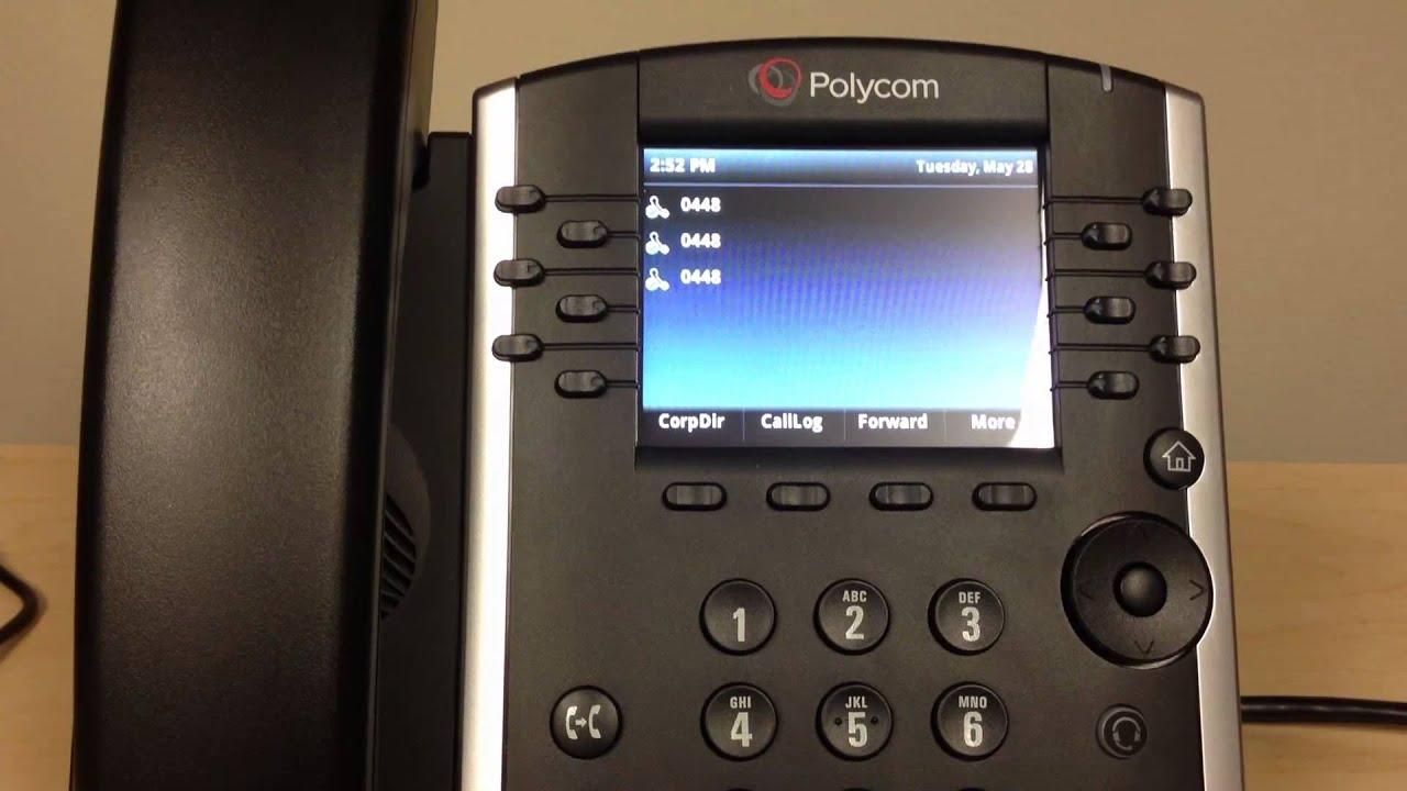 Polycom VVX 400/401 Voicemail Transfer   Evolve IP Quick Tip - YouTube