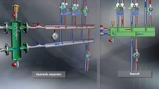 видео Коллекторы отопления с гидрострелкой