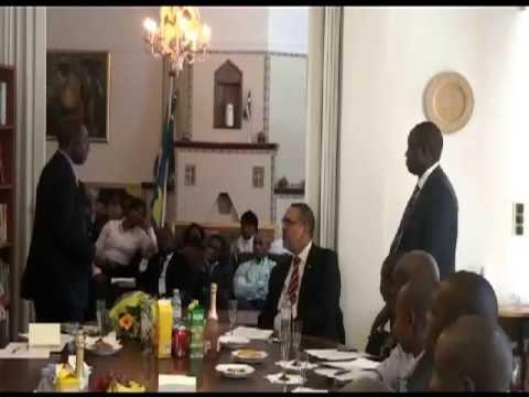 Nigerian Embassy Stockholm installs a Biometric Passport machine