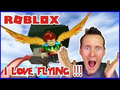 Angel Wings / I Love Flying / Roblox Skyblock 2