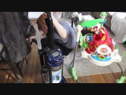 Speed cleaning! SAHM Daily routine