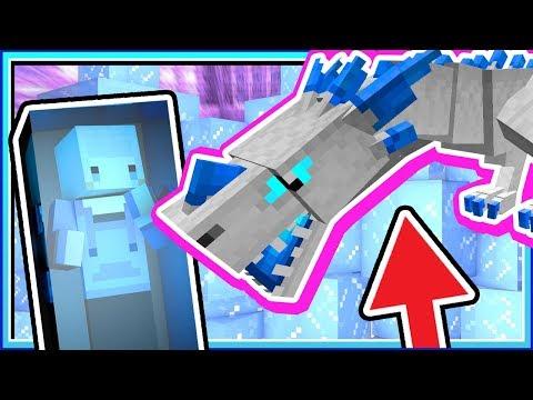 【Minecraft   巨龍與魔獸】#27 冰龍初登場❗❗蠕蟲居然可以當寵物❓